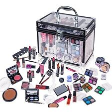 Complete Full Beauty Cosmetic Makeup Starter Kit Set Beginner Newbies Girls Box