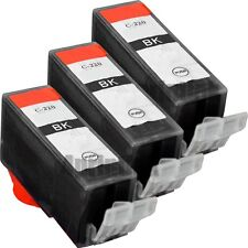 3 Pack New PGI-220  PGI220 Black Ink For Canon PIXMA MX860, MX870