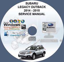 Subaru Legacy Outback 2014 - 2015 Service Repair Manual