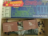 HO scale Roundhouse Chesapeake Ohio 40' Box Car C&O 5499   Vintage Rare