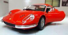 G LGB 1:24 escala Ferrari Dino 246 GTB 1968 26015 Burago muy detallado
