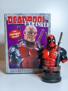 Bowen Designs Marvel Deadpool: Unmasked Mini Bust #3516