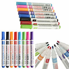Whiteboard Markers Pens White Board Dry-Erase Marker 8 Colors Set Fine Size