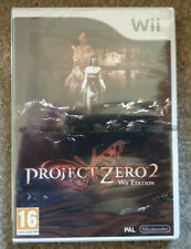 Nintendo Wii Game Project Zero 2 Wii Edition Brand New Factory Sealed