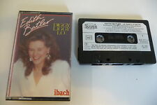 EDITH BUTLER K7 AUDIO TAPE DIGGY LIGGY LO... LE PARTY D'EDITH. IBACH CARRERE.