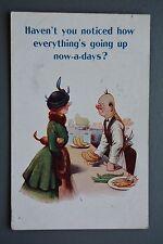 R&L Postcard: Comic, Bamforth 406, Shopkeeper Shop Counter Food, Banana, Prices