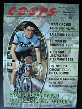 CYCLISME Coups de pédales N° 118 JANVIER-FEVRIER 2007 Franco BALMAMION.KIRCHEN.