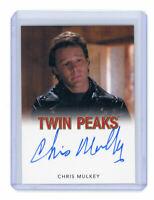 2018 Twin Peaks Chris Mulkey as Hank Jennings Classic Auto Autograph Card