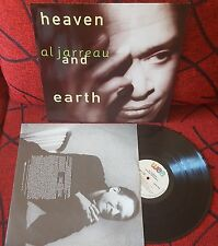 Jazz AL JARREAU *** Heaven And Earth *** ORIGINAL 1992 Germany LP w/ INSERT