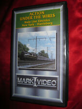 Action Under The Wires Main Line Electrics New York Harrisburg Mark I VHS Video