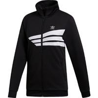 adidas Originals Women's Track Jacket New Black White Active Wear 2019 DU9605