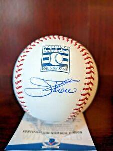 Jim Thome Signed Autographed Major League Baseball BAS Witness Indians HOF auto