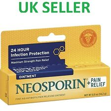 Neosporin Original PLUS Pain Relief Ointment Antibiotic First Aid Dual Action