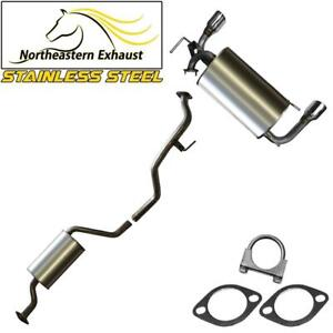 Resonator Pipe Muffler Exhaust System compatible with 2003-07 Nissan Murano