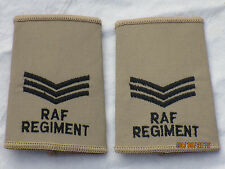 GB-Rangschlaufen:  Sergeant, Royal Air Force,khaki
