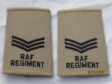 GB-Rangschlaufen:  Sergeant, Royal Air Force,khaki