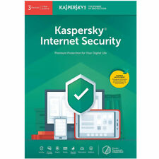Kaspersky Internet Security 2020 For 3 Devices, 1 Year Brand New Sealed UK