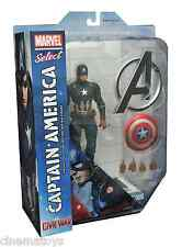 Marvel Select CAPITÁN América Captain Civil War película Action Figure 2016