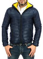 Doudoune Homme 100gr Veste Blouson d'aviateur Slim Fit GILET Pull Jeans CUIR