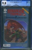 Stranger Things Dungeons & Dragons Crossover 1 (Dark Horse) CGC 9.8 White Pages