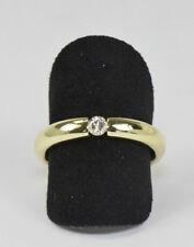 Brillant Ring in aus 14 Kt. Gold Brillant Solitär Diamant Damenring Nr.1570