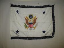 flag1191 Us Army Assistant Secretary of the Army small printed blue fringe Ir42C