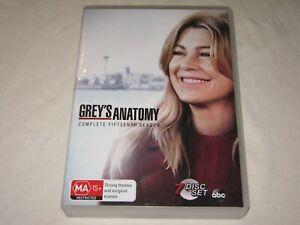 Grey's Anatomy - Complete Season 15 - 7 Disc Set - VGC - Region 4 - DVD