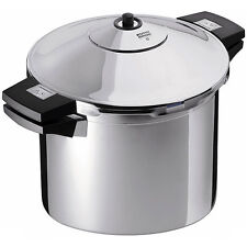 Kuhn Rikon Duromatic Stainless Steel Pressure Cooker 8 qt NEW