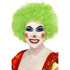 Unisex Green Afro Wig St Patrick's Paddy' Day Fancy Dress Accessory Circus Clown