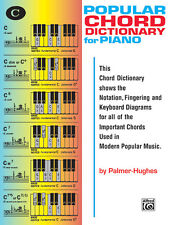Popular Piano Chord Dictionary; Hughes, Ed & Palmer, Bill, ALFRED - 112