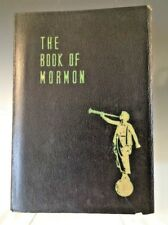 The Book Of Mormon - 1950, US. Leatherette Covers