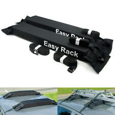 Universal Soft Car Roof Rack Set Fit Car Van Large Luggage Bag Surfboard Travel