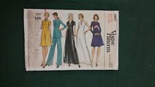 Vintage Vogue Ladies Pants Tunic Dress Pattern 8467 Size 14 Free Shipping