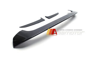 Unpainted M Sport type Rear Roof Spoiler ABS fits BMW F20 F21 1-Series Hatchback