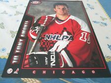 1994-95 Post Cereal Proof, TONY AMONTE CHICAGO BLACK HAWKS