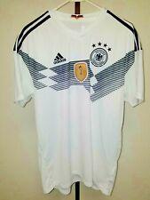 Adidas Deutscher Fussball-Bund - White Soccer Shirt - XL - Germany