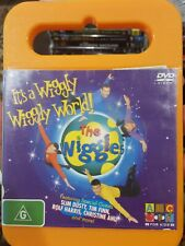 THE WIGGLES RARE DVD IT'S A WIGGLY WIGGLY WORLD! AUSTRALIAN TV SERIES SLIM DUSTY