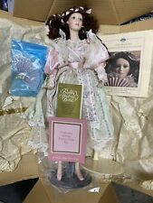 Franklin Mint - Heirloom Dolls - Catherine And The Poetry Of The Fan