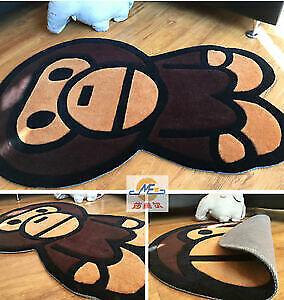 Bathing Ape Bape Baby Rug Milo Carpet Mat Bedroom Living Room Area Floor Decor