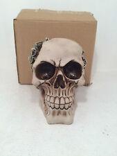 Clockwork Cranium Mechanics Skull Figurine Ornament Gothic BRAND NEW BOXED