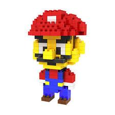 Mini DIY Puzzle Nano Block Building Blocks Sets Mini Blocks Toys Mario