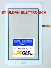 "TOUCH SCREEN per SAMSUNG GALAXY TAB 3 Lite SM T110 tablet VETRO 7.0"" Bianco"