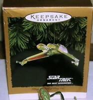 1994 Hallmark Star Trek Next Generation Klingon Bird of Prey Ornament Flickering