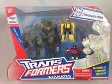 Transformers Animated Stealth LockDown Lock Down Bumblebee Optimus Prime NEW MIB