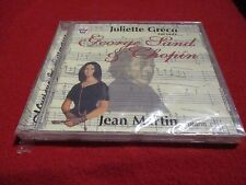 """CD NEUF """"JULIETTE GRECO RACONTE GEORGE SAND & CHOPIN"""""""