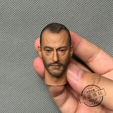 "Jean Reno Head Carving 1:6 Scale The Professional Léon Model F 12"" Action Figure"