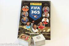 Original Panini FIFA 365 2017 complete set of all stickers + album