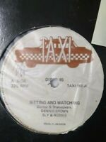 "Dennis Brown-Sitting And Watching 12"" Vinyl Single"