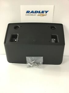 NEW OEM GM Chevrolet Silverado 2500 HD License Plate Bracket Mount 22774440 B213