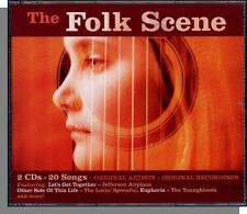 The Folk Scene - New 1960's Recordings, Double CD! Original Artists Recordings!